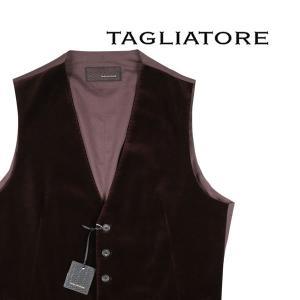 【50】 TAGLIATORE タリアトーレ ジレ BRIAN/F メンズ 秋冬 ブラウン 茶 並行輸入品 ベスト utsubostock