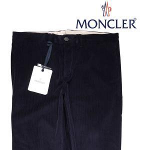 【50】 MONCLER モンクレール コーデュロイパンツ D20911142400549K4 メンズ 秋冬 ネイビー 紺 並行輸入品 ズボン|utsubostock