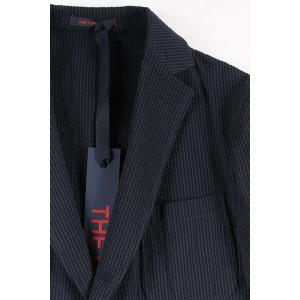 【48】 THE GIGI ザ ジジ ジャケット ANGIE F203 メンズ 春夏 ストライプ ネイビー 紺 並行輸入品 アウター トップス|utsubostock|05