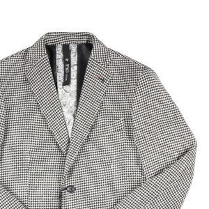 【48】 FAG ファグ ジャケット メンズ 秋冬 千鳥 ホワイト 白 並行輸入品 アウター トップス utsubostock