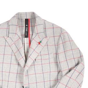 【48】 FAG ファグ ジャケット メンズ 春夏 チェック グレー 灰色 並行輸入品 アウター トップス utsubostock