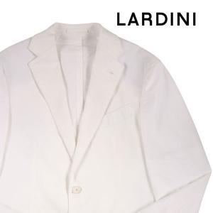【46】 LARDINI ラルディーニ ジャケット メンズ 春夏 ホワイト 白 並行輸入品 アウター トップス|utsubostock