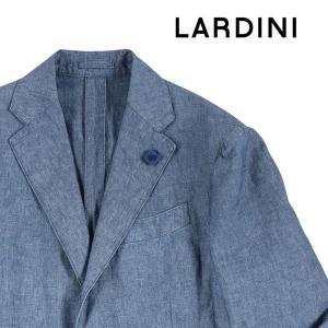 【48】 LARDINI ラルディーニ ジャケット メンズ 春夏 ネイビー 紺 並行輸入品 アウター トップス|utsubostock