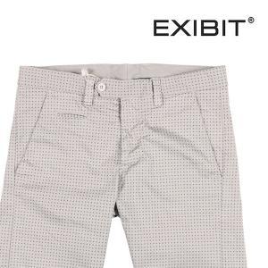 【46】 EXIBIT エグジビット ハーフパンツ メンズ 春夏 水玉 グレー 灰色 並行輸入品 ズボン|utsubostock
