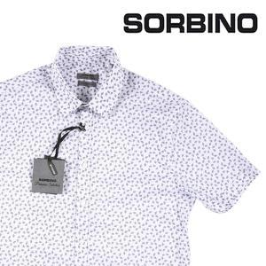【S】 SORBINO ソルビーノ 半袖シャツ メンズ 春夏 ホワイト 白 並行輸入品 カジュアルシャツ|utsubostock