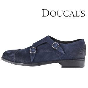 【40】 DOUCAL'S デュカルス ローファー メンズ ネイビー 紺 レザー 並行輸入品 utsubostock