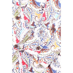 【42】 POGGIANTI 1958 ポジャンティ 1958 長袖シャツ メンズ ペイズリー マルチカラー 並行輸入品 カジュアルシャツ 大きいサイズ|utsubostock|05