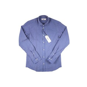 【M】 SEEKER GROOVE シーカーグルーブ 長袖シャツ メンズ ストライプ ネイビー 紺 並行輸入品 カジュアルシャツ|utsubostock|02