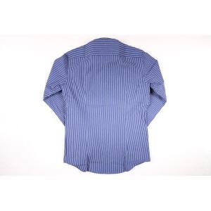 【M】 SEEKER GROOVE シーカーグルーブ 長袖シャツ メンズ ストライプ ネイビー 紺 並行輸入品 カジュアルシャツ|utsubostock|03