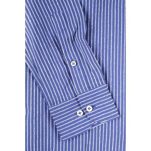 【M】 SEEKER GROOVE シーカーグルーブ 長袖シャツ メンズ ストライプ ネイビー 紺 並行輸入品 カジュアルシャツ|utsubostock|05