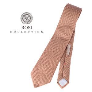 ROSI COLLECTION ロージコレクション ネクタイ メンズ 秋冬 チェック ベージュ 並行輸入品|utsubostock