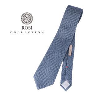 ROSI COLLECTION ロージコレクション ネクタイ メンズ 秋冬 チェック ネイビー 紺 並行輸入品|utsubostock