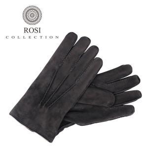 ROSI COLLECTION ロージコレクション グローブ メンズ 秋冬 ブラック 黒 レザー 並行輸入品|utsubostock