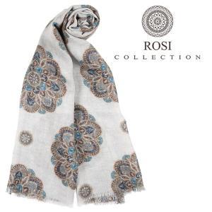ROSI COLLECTION ロージコレクション ストール メンズ 秋冬 ブルー 青 並行輸入品|utsubostock