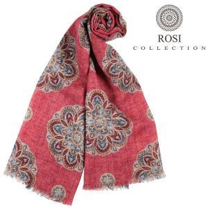 ROSI COLLECTION ロージコレクション ストール メンズ 秋冬 ピンク 並行輸入品|utsubostock
