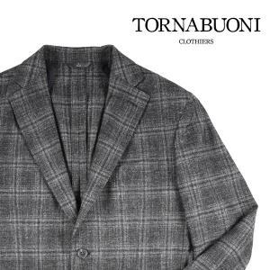 【56】 TORNABUONI トルナブォーニ ジャケット メンズ 秋冬 チェック ブラック 黒 並行輸入品 アウター トップス|utsubostock