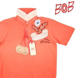 【S】 BOB ボブ 半袖ポロシャツ ALTOP メンズ 春夏 オレンジ 並行輸入品 トップス utsubostock