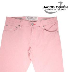 【33】 JACOB COHEN ヤコブコーエン ジーンズ PW622 メンズ 春夏 ピンク 並行輸入品 デニム|utsubostock
