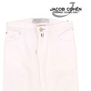 【30】 JACOB COHEN ヤコブコーエン ジーンズ PW622 メンズ 春夏 ホワイト 白 並行輸入品 デニム|utsubostock