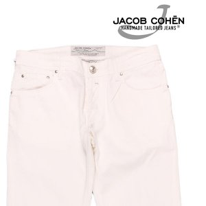 【32】 JACOB COHEN ヤコブコーエン ジーンズ PW622 メンズ 春夏 ホワイト 白 並行輸入品 デニム|utsubostock