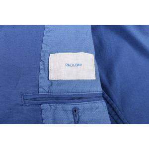 【44】 PAOLONI パオローニ ジャケット メンズ 春夏 ブルー 青 並行輸入品 アウター トップス utsubostock 04