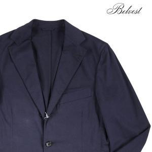 【44】 BELVEST ベルベスト ジャケット メンズ 春夏 ネイビー 紺 並行輸入品 アウター トップス|utsubostock