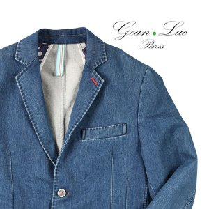 【48】 GEAN LUC ジーンリューク ジャケット メンズ 春夏 ネイビー 紺 並行輸入品 アウター トップス utsubostock