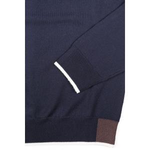 【XL】 +39 masq マスク 丸首セーター メンズ 秋冬 ネイビー 紺 並行輸入品 ニット utsubostock 05