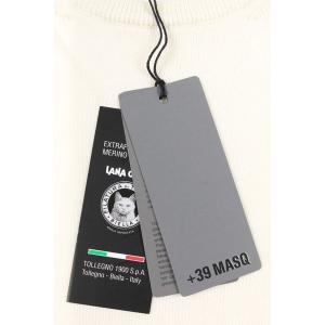 【S】 +39 masq マスク 丸首セーター メンズ 秋冬 ホワイト 白 並行輸入品 ニット|utsubostock|08