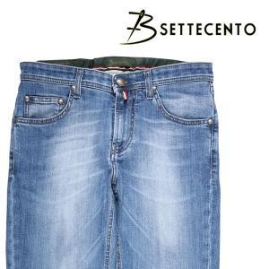 B SETTECENTO(ビーセッテチェント) ジーンズ 208 ブルー 34 21299 【A21304】|utsubostock