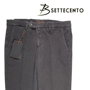 【34】 B SETTECENTO ビーセッテチェント パンツ メンズ 秋冬 グレー 灰色 並行輸入品 ズボン 大きいサイズ utsubostock
