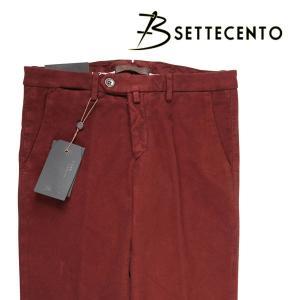 【38】 B SETTECENTO ビーセッテチェント パンツ メンズ 秋冬 レッド 赤 並行輸入品 ズボン 大きいサイズ|utsubostock