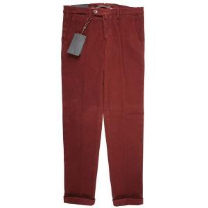 【38】 B SETTECENTO ビーセッテチェント パンツ メンズ 秋冬 レッド 赤 並行輸入品 ズボン 大きいサイズ|utsubostock|02