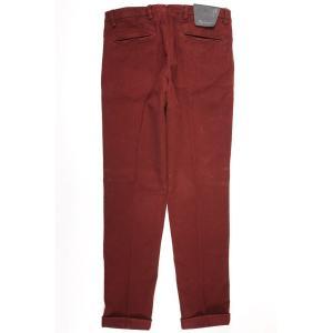 【38】 B SETTECENTO ビーセッテチェント パンツ メンズ 秋冬 レッド 赤 並行輸入品 ズボン 大きいサイズ|utsubostock|03