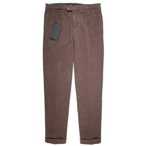 【36】 B SETTECENTO ビーセッテチェント パンツ メンズ ブラウン 茶 並行輸入品 ズボン 大きいサイズ|utsubostock|02