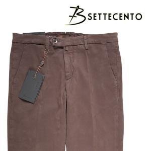 【40】 B SETTECENTO ビーセッテチェント パンツ メンズ ブラウン 茶 並行輸入品 ズボン 大きいサイズ|utsubostock