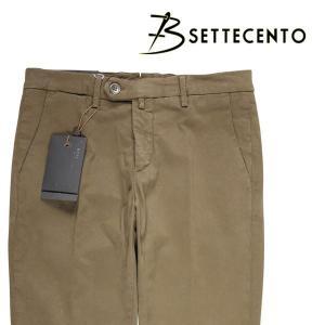 【44】 B SETTECENTO ビーセッテチェント パンツ メンズ カーキ 並行輸入品 ズボン 大きいサイズ|utsubostock