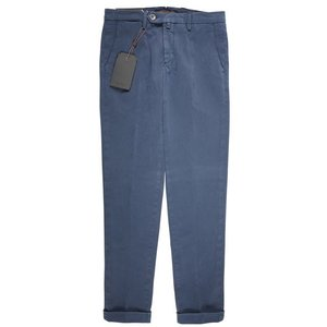 【30】 B SETTECENTO ビーセッテチェント パンツ メンズ ネイビー 紺 並行輸入品 ズボン|utsubostock|02
