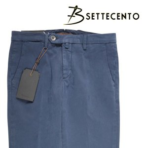 【34】 B SETTECENTO ビーセッテチェント パンツ メンズ ネイビー 紺 並行輸入品 ズボン 大きいサイズ|utsubostock