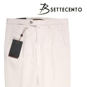 【40】 B SETTECENTO ビーセッテチェント パンツ メンズ ホワイト 白 並行輸入品 ズボン 大きいサイズ|utsubostock