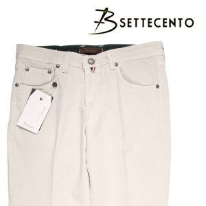 【32】 B SETTECENTO ビーセッテチェント ジーンズ メンズ ホワイト 白 並行輸入品 デニム|utsubostock