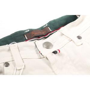 【42】 B SETTECENTO ビーセッテチェント ジーンズ メンズ ホワイト 白 並行輸入品 デニム 大きいサイズ|utsubostock|04