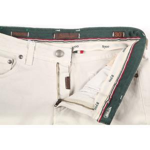 【42】 B SETTECENTO ビーセッテチェント ジーンズ メンズ ホワイト 白 並行輸入品 デニム 大きいサイズ|utsubostock|06