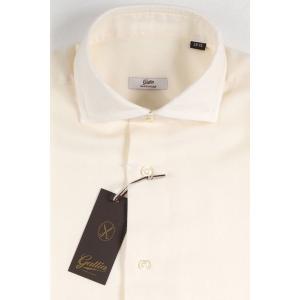 【41】 GALLIA ガリア 長袖シャツ メンズ 秋冬 ホワイト 白 並行輸入品 ビジネスシャツ|utsubostock|04
