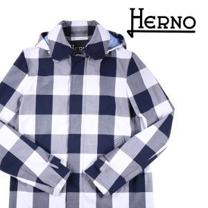 【48】 HERNO ヘルノ コート IM0151U メンズ チェック ブルー 青 並行輸入品 アウター トップス utsubostock