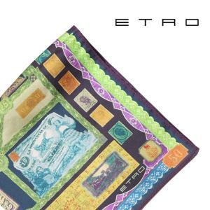 ETRO(エトロ) ポケットチーフ 1T1994121 マルチカラー 【A21512】|utsubostock