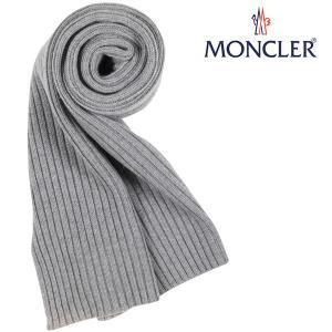 MONCLER モンクレール マフラー 1091 メンズ 秋冬 グレー 灰色 並行輸入品|utsubostock