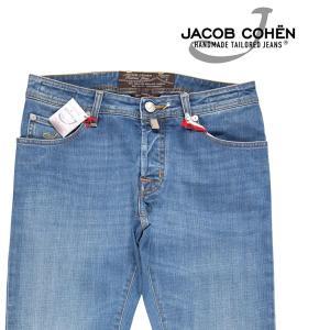 【32】 JACOB COHEN ヤコブコーエン ジーンズ J622QSCOMF メンズ ブルー 青 並行輸入品 デニム utsubostock