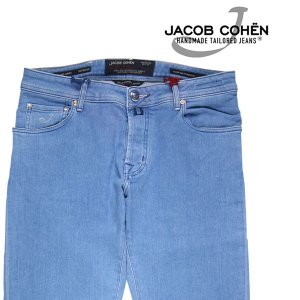 JACOB COHEN(ヤコブコーエン) ジーンズ J622COMF ライトブルー 34 【A21562】|utsubostock