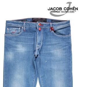JACOB COHEN(ヤコブコーエン) ジーンズ J696COMF ブルー 34 【A21563】|utsubostock